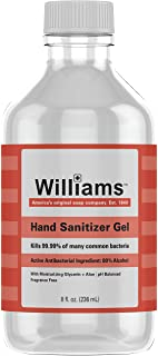 GEL DESINFECTANT POUR LES MAINS WILLIAMS 240 ML